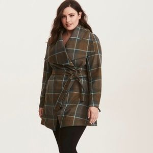 NWT Size 6 Torrid Outlander Mackenzie Plaid Coat